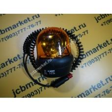 Маячок проблесковый желтый с проводом и магнитом 526/03130
