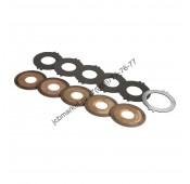 Комплект дисков тормозных КПП 998/11001