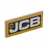 Эмблема большая горизонтальная JCB